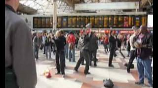 NFL Flash Mob