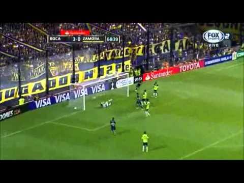 Boca Juniors 5 - 0 Zamora Copa Libertadores 2015