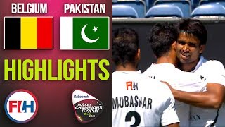 Belgium v Pakistan | 2018 Men's Hockey Champions Trophy | HIGHLIGHTS