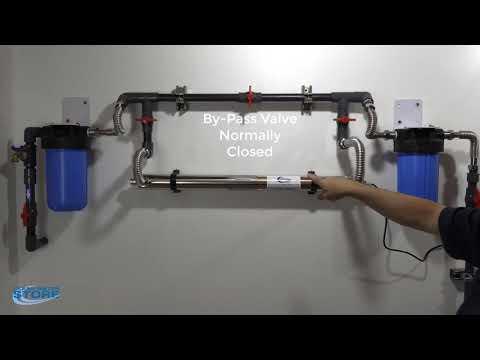 Wonderlight Ultraviolet (UV) Sterilizer Installation Part 1