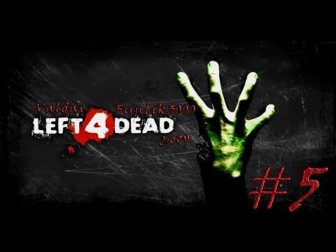 Смотреть прохождение игры [Coop] Left 4 Dead. Серия 5 - Неприятности в больнице.