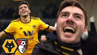 JIMENEZ HELPS SEAL HAT TRICK WIN! Wolves Vs Bournemouth 2-0 Matchday Vlog