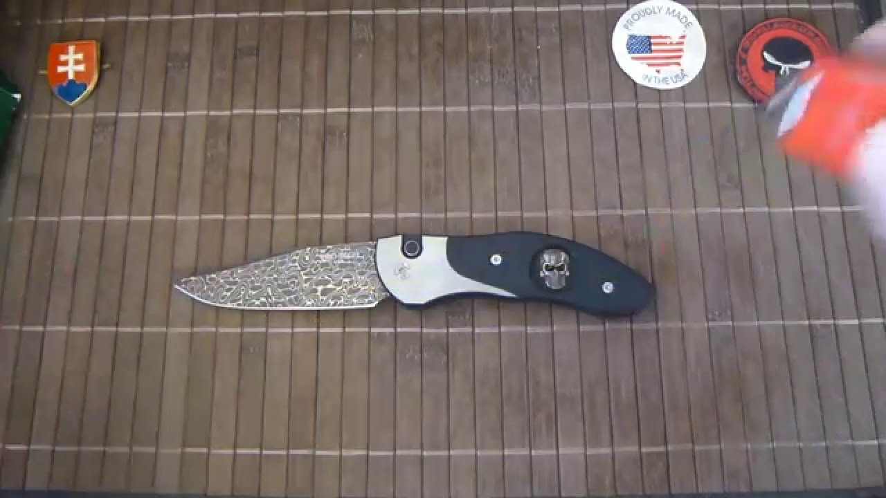 Protech Steel & Skull Custom Doru Automatic Knife