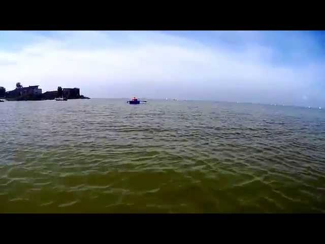 Spaziergang durch das IJsselmeer
