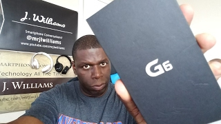 LG G6 Unboxing BLACK EDITION!
