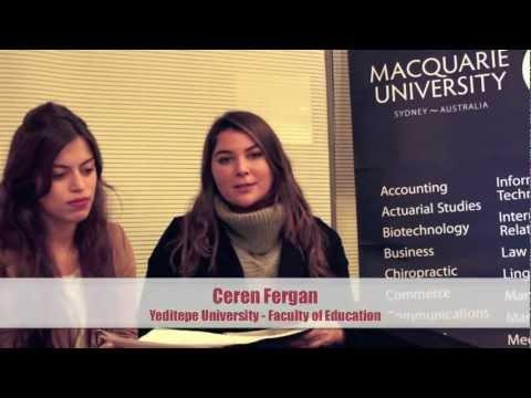 Maquarie University - How did you like Turkey