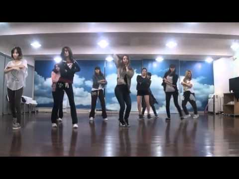 SNSD/Girls' Generation - The Boys mirrored Dance Practice