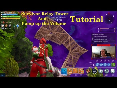 Survivor Relay Tower Building Tutorial (Fortnite Save The World)