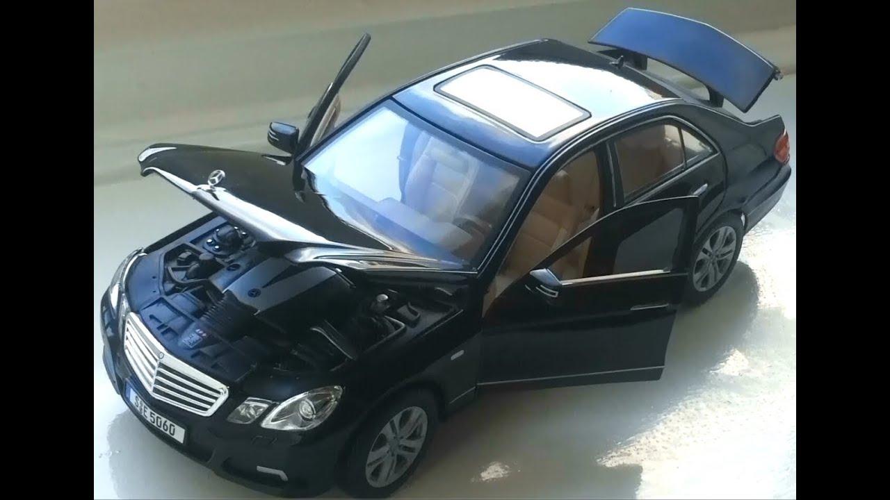 mercedes benz e klasse class schwarz w212 modellauto. Black Bedroom Furniture Sets. Home Design Ideas