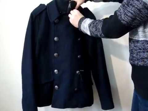 Пальто мужское стойка - YouTube
