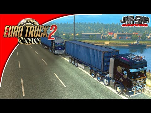 Euro Truck Simulator 2 Multiplayer France Delivery Event Trucking Good Saturday's