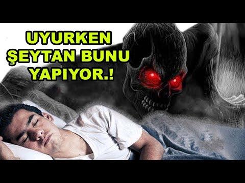 Siz Uyuduktan Sonra Şeytanın Size Ne Yaptığını İnanamayacaksınız.  😈