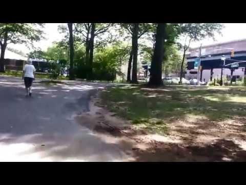 Van Cortlandt Park entrance Bronx New York