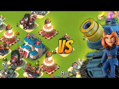 RAINMAKER vs MICROWAVER in Boom Beach!
