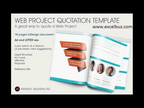 Website Development Quotation Template