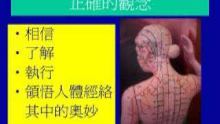 經穴養生保健-頭部經絡 (第一集)