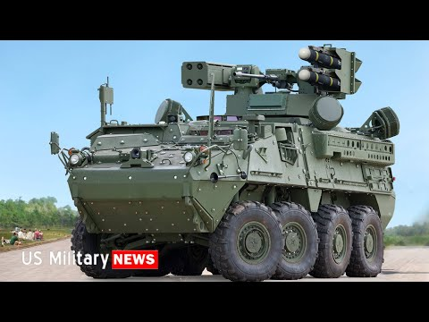 US Army's New Stryker A1 IM-SHORAD Air Defense System