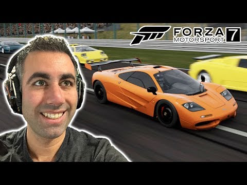 MCLAREN F1 NURBURGRING LAP RECORD ATTEMPT - FORZA 7