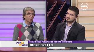 Jhon Boretto | Decano Facultad de Ciencias Económicas