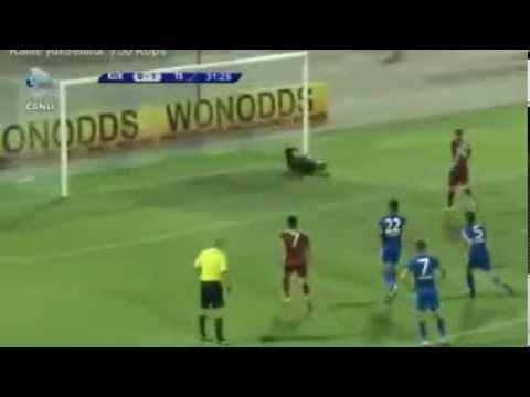 Adrian Mierzejewski GOL Trabzon 1 - 0 Kukesi  öne geçti HD 22 08 2013 ADRİAN GOAL KUKESİ