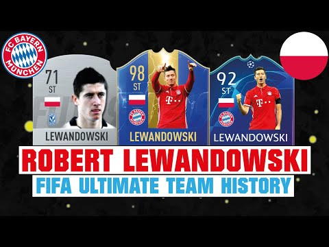 ROBERT LEWANDOWSKI 😱🔥| FIFA ULTIMATE TEAM HISTORY | FIFA 10 - FIFA 19