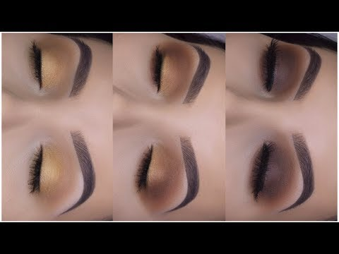 3 EASY MAKEUP LOOKS USING 1 PALETTE! | Easy Makeup For Beginners thumbnail