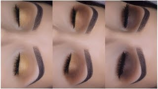 3 EASY MAKEUP LOOKS USING 1 PALETTE! | Easy Makeup For Beginners