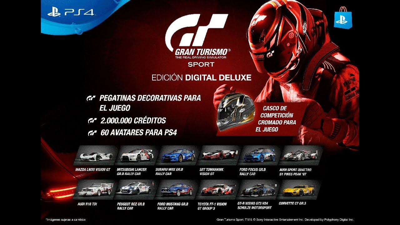gran turismo sport fecha de salida tr iler ediciones precios contenido loquendo youtube. Black Bedroom Furniture Sets. Home Design Ideas