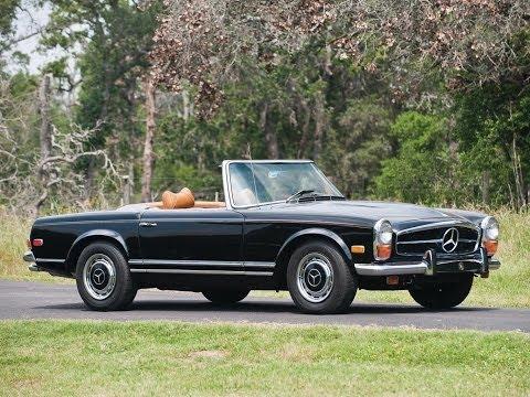#202. Старые автомобили - Mercedes-Benz 280
