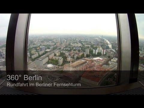 360 Grad Berlin: Rundfahrt im Berliner Fernsehturm