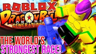 THE STRONGEST RACE IN THE GAME.... PERIOD! | Roblox: Dragon Ball Online Generations (Final Test)