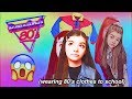 I WORE 80's CLOTHES FOR A WEEK !!