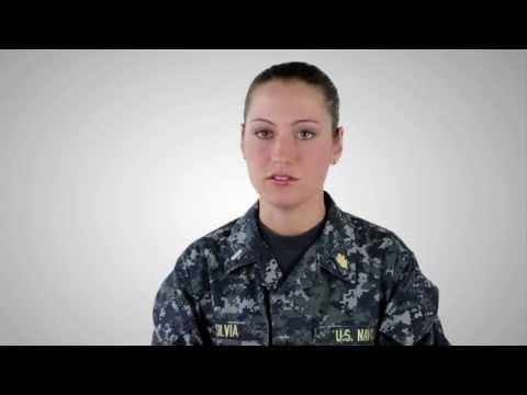 Officer Development School -- Lieutenant Junior Grade Caroline Silvia