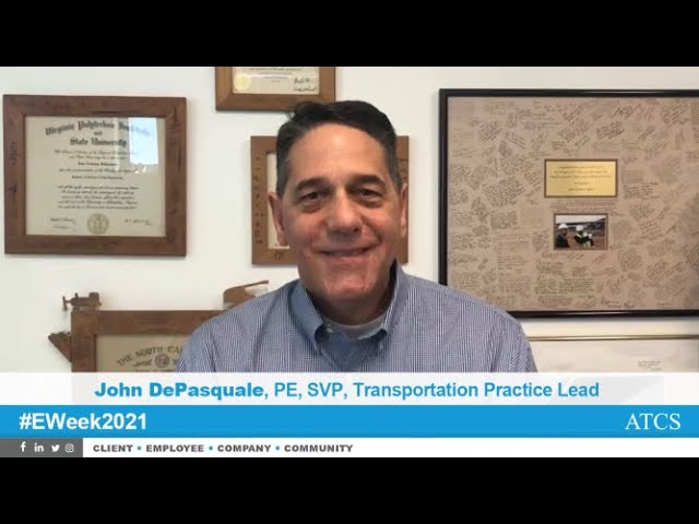 John DePasquale, PE, Engineers Week 2021 Employee Spotlight