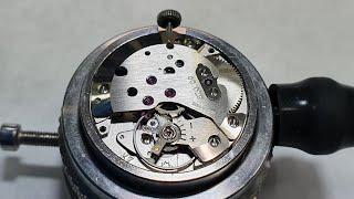 [명품시계수리] 빈티지 융한스 시계수리 오버홀 (vin…
