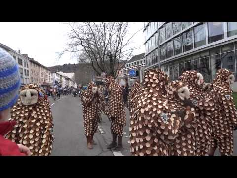 The Swabian--Alemannic Fastnacht in Freiburg, Germany_ Part 2