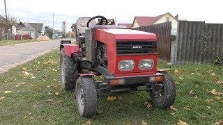 як зробити трактор своїми руками з москвича