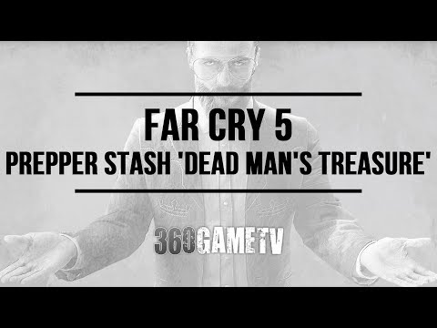 Far Cry 5 Prepper Stash Dead Man's Treasure - Faith's Region Prepper Stash Locations/Solutions Guide