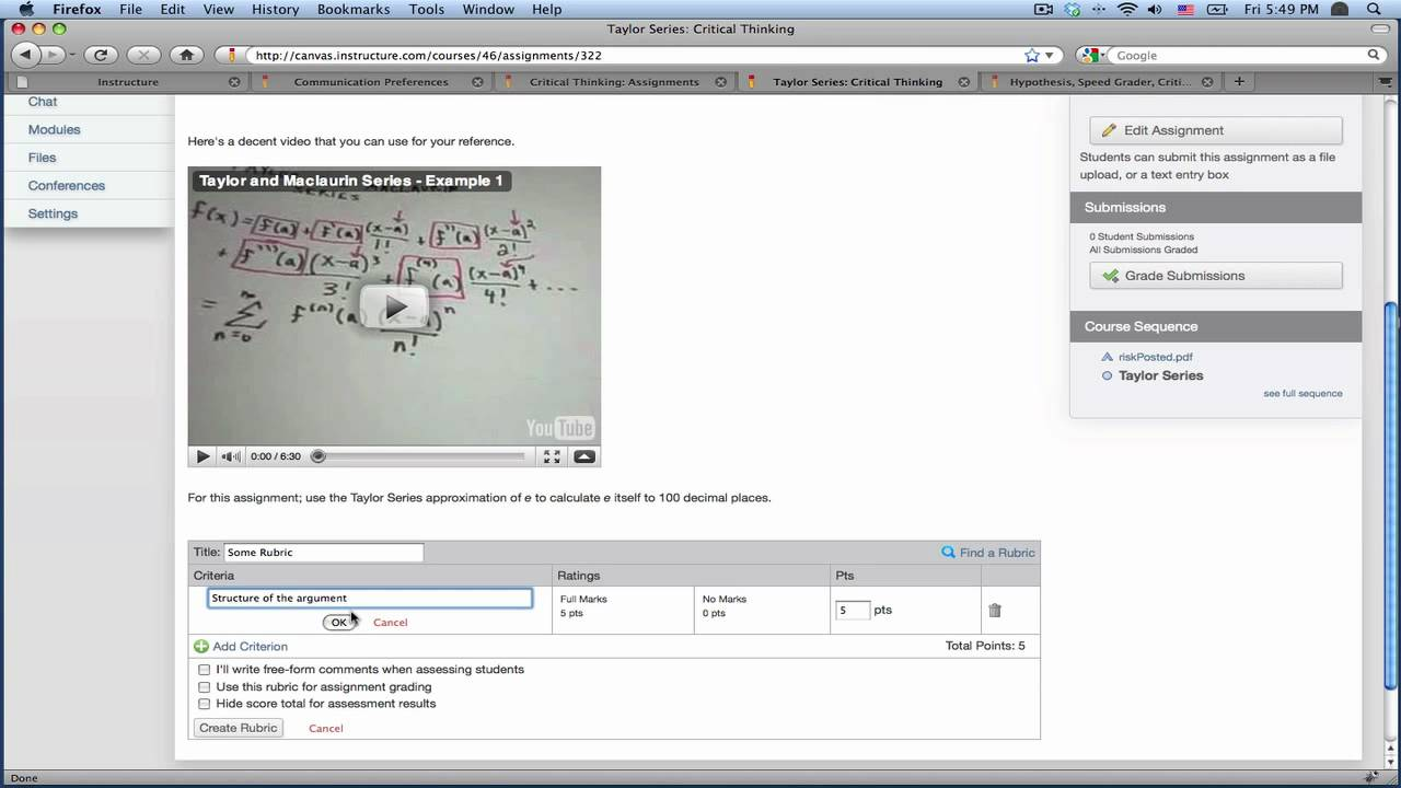 canvas instructure dcps