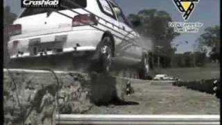 A1 Highways Wire Rope Safety Barrier Demonstration Thumbnail