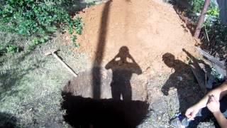 Колодцы, выгребные ямы, траншеи - все для водоснабжения и канализации Вашего участка.(, 2014-12-24T14:07:07.000Z)