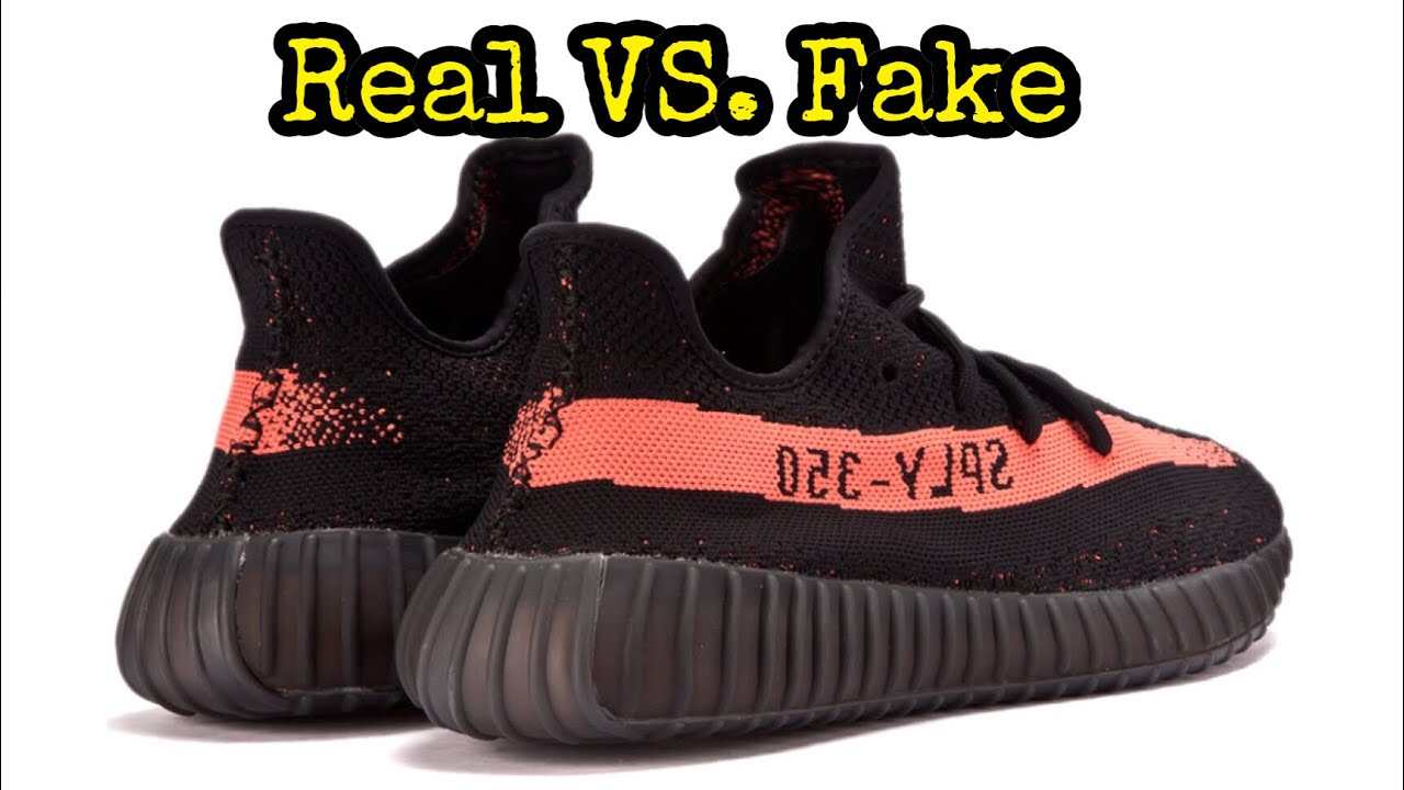 7520d6437 HOW TO LEGIT CHECK    Adidas Yeezy Boost 350 V2 Core Black Red - YouTube