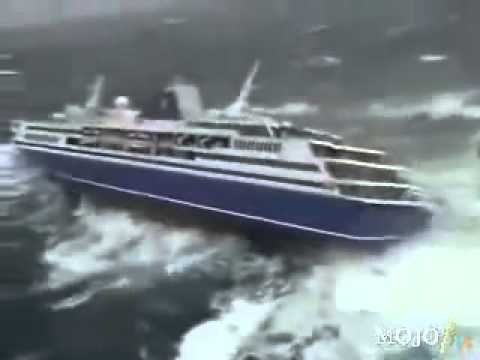 Passenger Cruise Ship Almost Down By The Tsunami YouTube - What was the last cruise ship to sink