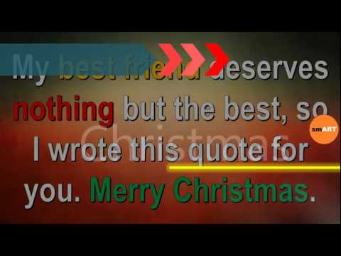 Xmas Sayings - Free Christmas Greetings - YouTube