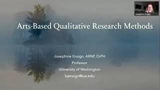 Nursing Research Workshop: Alternative Methods: Arts-based Research