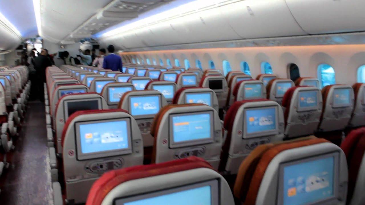 air india 787 interiors part 1 youtube