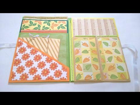 Smash book Tutorial by Srushti patil | DIY paper crafts | Card Ideas
