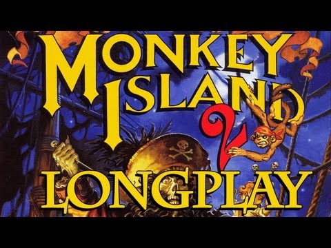MONKEY ISLAND 2 [HD] - LeChuck's Revenge ★ Monkey Island 2 Longplay