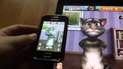"Two Talking Tom Test ""Hallo"""