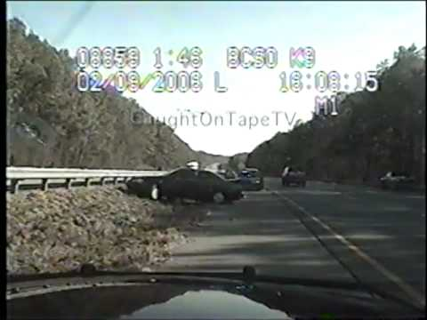 QUICK END TO HIGH SPEED CHASE OF STOLEN CAR!